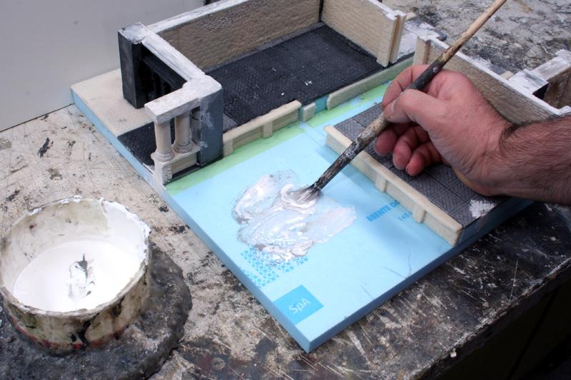 Creare l effetto acqua manorhouse workshop for Modo semplice per costruire una casa