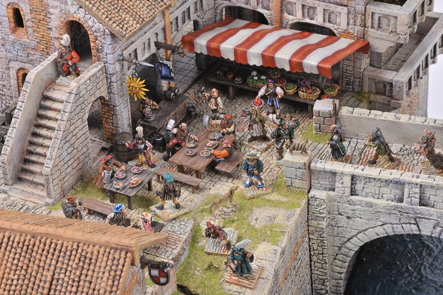 Un Villaggio Medievale Per La Nativit 224 Manorhouse Workshop