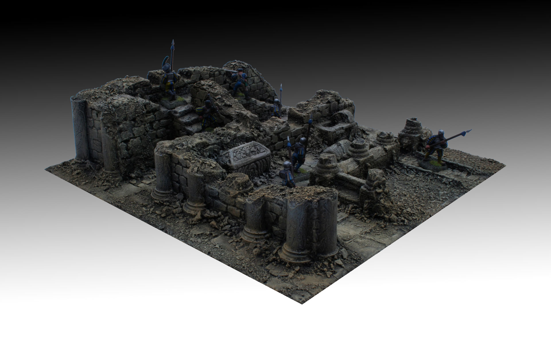 3D Bases - Modular Terrain: by MHW - 3D Bases production under way